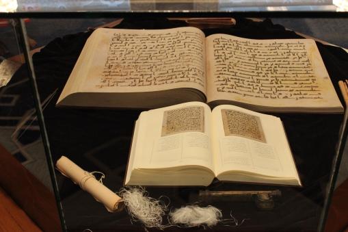 The copy of the original Quran